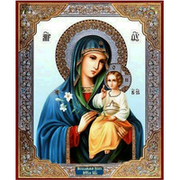 DIY diamond embroidery religion patterns mosaic wall sticker cross stitch diamond painting virgin and child Jesus decor 30*40cm