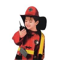 Children Kids Halloween Christmas Party Cosplay Firefighter Fireman Costume Fancy Dress Girl Boy Cosplay