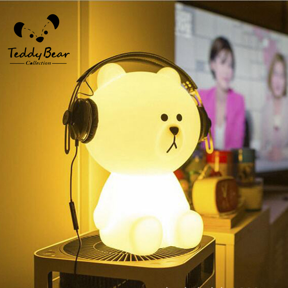 Led white bear led bedroom toy sensor desk decoration light box led white bear led bedroom toy sensor desk decoration light box candle in night lights from lights lighting on aliexpress alibaba group geotapseo Choice Image