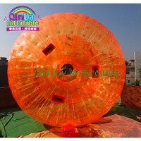Высокое качество прочный надувные сверкающих трава мяч с водяным бампером мяч Зорбинг мяч для продажи