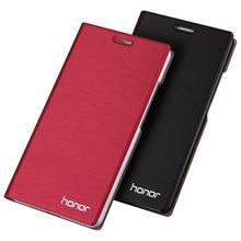 Hàng Mới Về cho Huawei Honor 4C Ốp Lưng Điện Thoại Cao Cấp Mỏng Phong Cách Lật Bao da bảo vệ cho Danh Dự 4C 5.0 Bao da