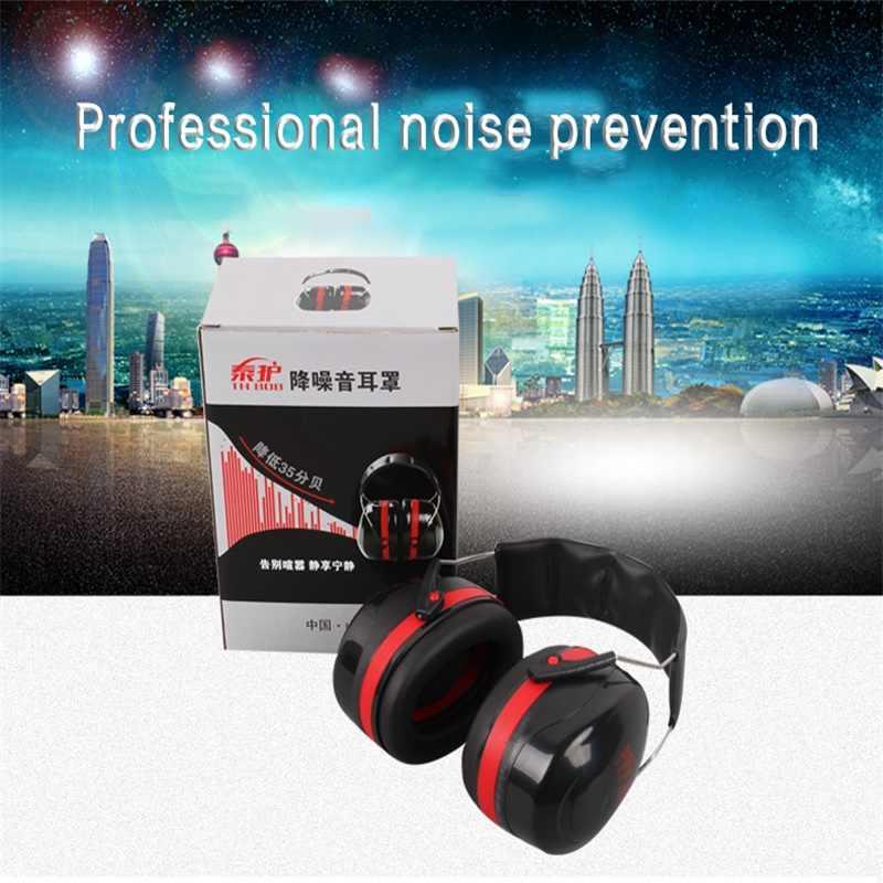 Marca Tactical Protetor Auditivo Com Cancelamento de Ruído Fones De Ouvido Earmuffs Anti Ruído Dormir Protetores de Ouvido de Estudo e Trabalho de Caça Tiro