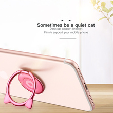 Cute Cat Phone Holder Ring