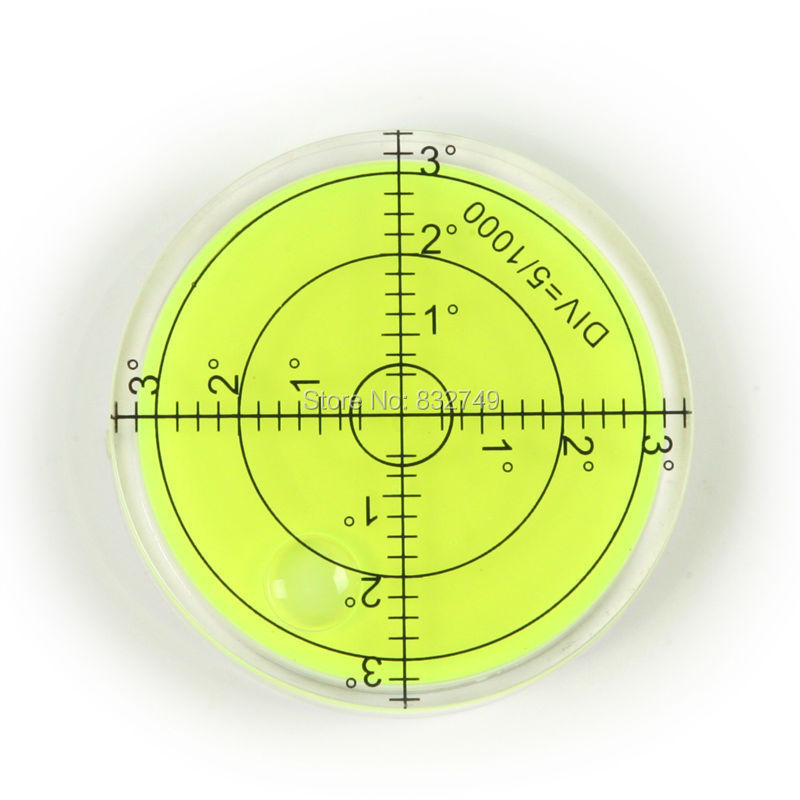 Level Measuring Instruments : Pcs bubble degree marked surface leveling for