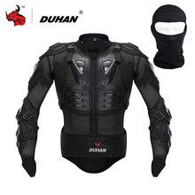 DUHAN Armadura de La Motocicleta Motocicleta Motocross Racing Riding Prtection Cuerpo Completo Body Armor Spine Protectora Pecho Negro