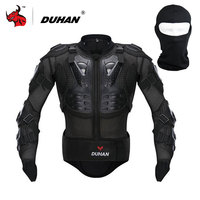 DUHAN Professional Motorcycle Riding Body Prtection Motorcross Racing Full Body Armor Spine Chest Protective Jacket Gear