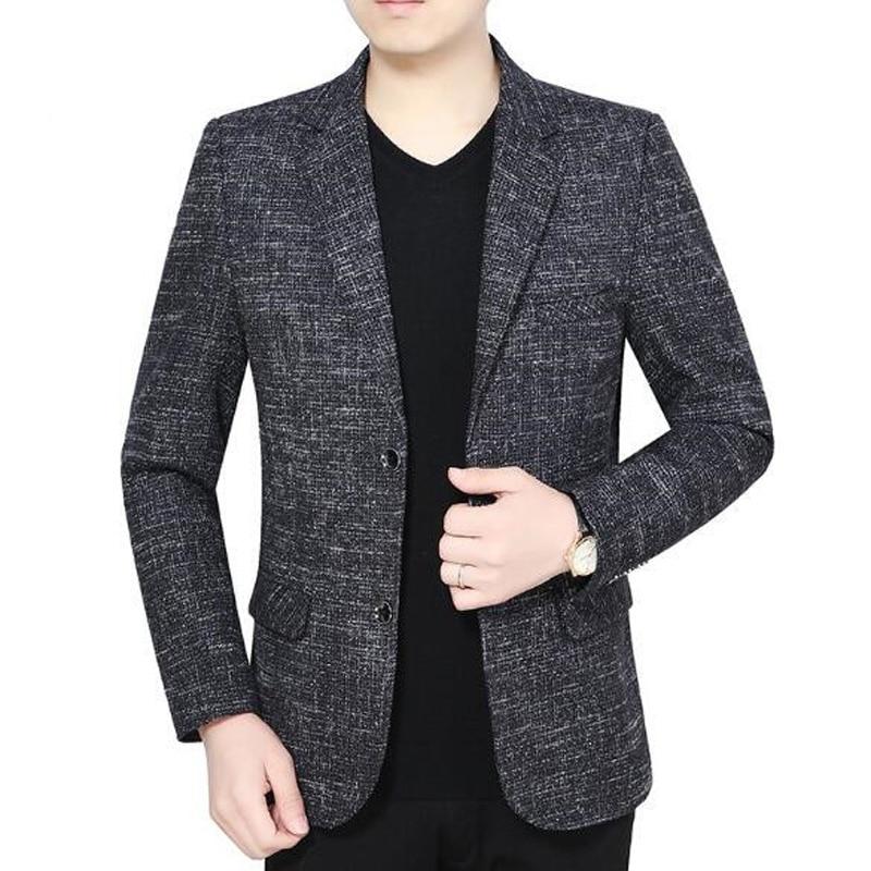2019 New High quality Arrival Business mens blazer Casual Blazers Men Popular Design Men Dress Suit Jackets M 3XL