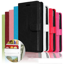 PU Leather Magnetic 3 Card Slots Flip Wallet Case For Alcatel IDOL PIXI POP 3 4 First 4S Plus Star Shine Lite Go Play A3 U5 Case