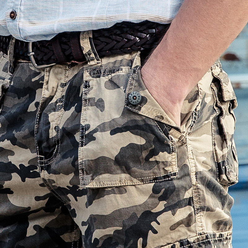 Trousers Camouflage Homme Mr
