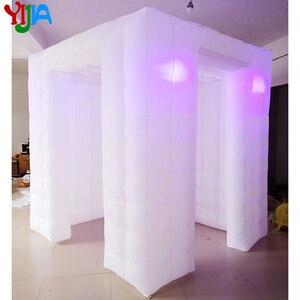 Image 4 - Hoge kwaliteit custom wedding party opblaasbare photobooth led photo booth tent