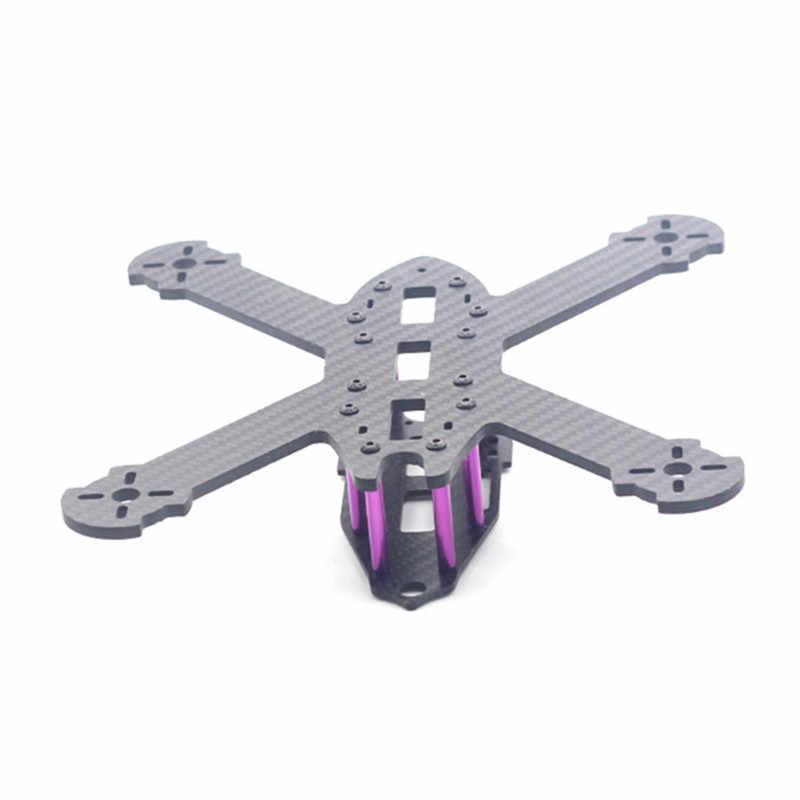 HSKRC TWE210 210mm empattement 4mm bras 3 K Fiber de carbone X Type FPV course cadre Kit pour RC Drone Multicopter bricolage moteur pièces de rechange