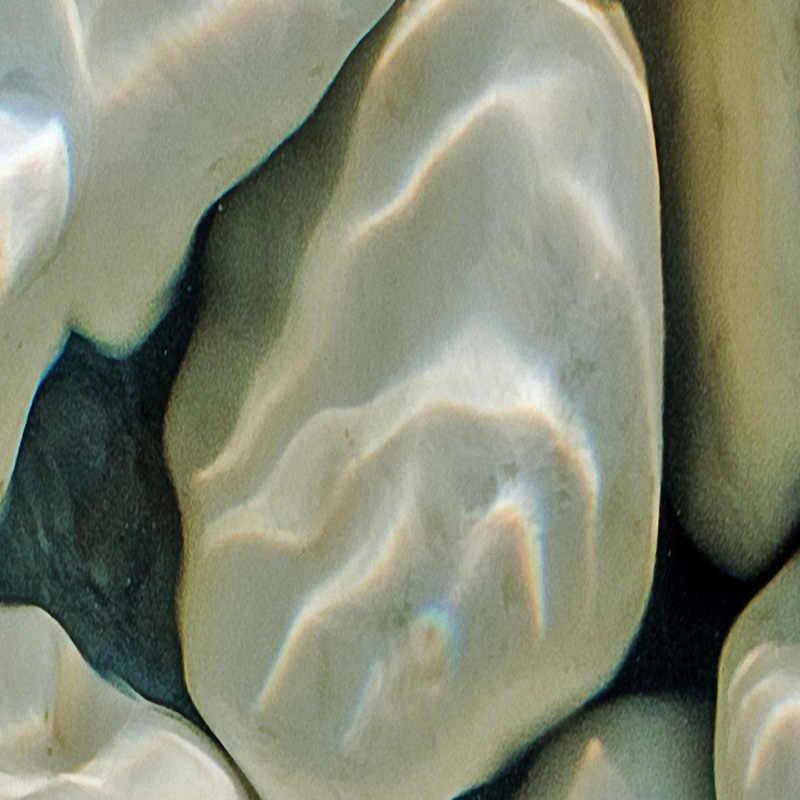 תמונה טפט מודרני 3D חלוקי גלי מים מרצפות ציור ציורי קיר מדבקת סלון PVC עמיד למים ללבוש קיר נייר 3 D