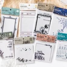 Лесная серия, бумажный блокнот для заметок, прозрачный блокнот Le Petit Prince, блокнот для заметок, школьные офисные принадлежности, Подарочные канцелярские принадлежности