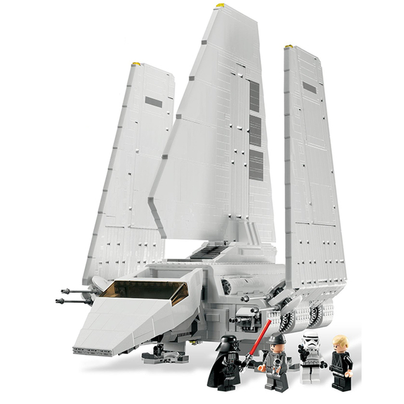 Lepin 05034 Star Wars Imperial Shuttle building bricks blocks Toys for children Game Weapon Compatible with Decool Bela 10212 lepin 22001 imperial flagship building bricks blocks toys for children boys game model car gift compatible with bela decool10210