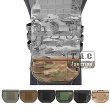 Emerson Tactical Drop Pouch Fanny Pack Tool Organizer Bag Front Pocket for Body Armor Plate Carrier Vest CORDURA Multicam MC