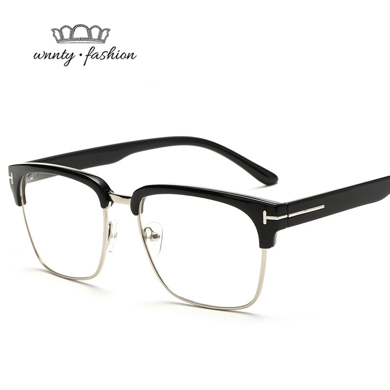 5c6fa10e4d6 Silhouette High Square Woman Luxury Sun Clear Men Retro For Flat Eyewear  Sunglasses Women Designer Glasses ...