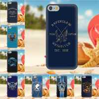 Oedmeb Ravenclaw para iPhone 4S 5S 5C SE 6 6S 7 8 Plus X Galaxy Nota 5 6 8 S9 + gran Core Prime alfa suave TPU móvil