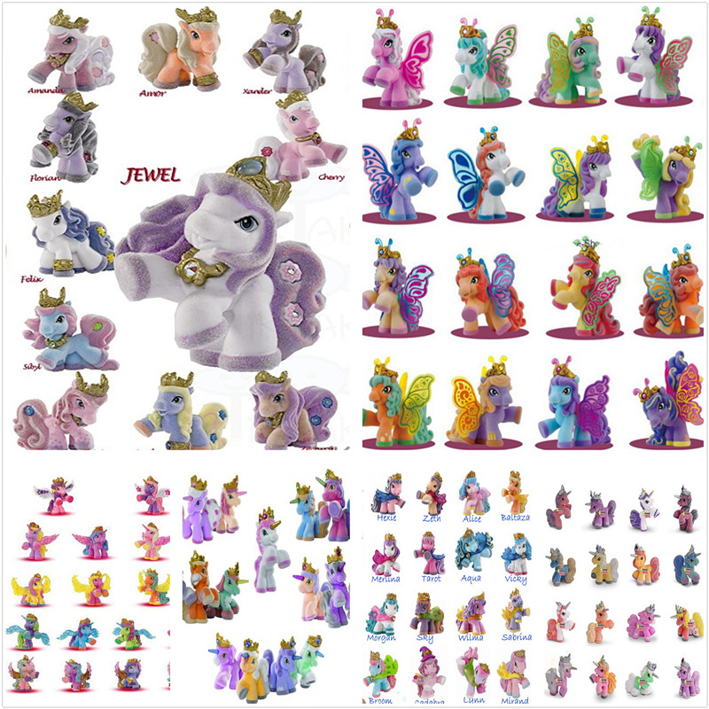 5cm filly simba little horse dolls collection unicorn butterfly