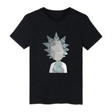 Rick And Morty Funny Printing Shirt Men Geometric 3D Cartoon faucet design print men's suit T-shirt hip hop rap tee shirt