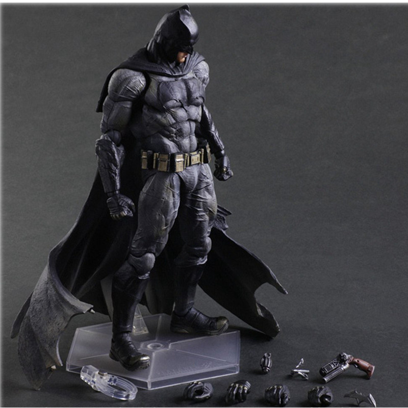 Avengers Play Arts Batman VS Superman Dawn Of Justice Armored Batman Model Anime PVC Action Figure Collectible Model Toy L512