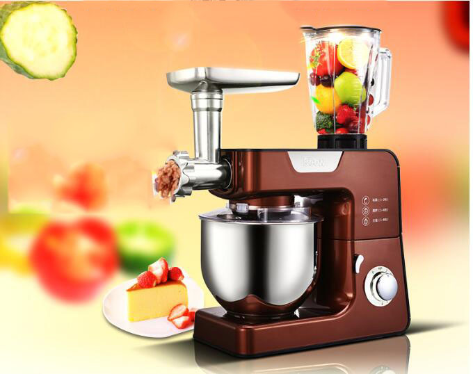 все цены на Electric commercial kitchen planetary food mixer blender mixer egg beater milk shaker bread spiral dough mixer machine онлайн