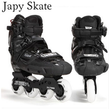 Japy Skate Original 2014 SEBA IGOR Adult Inline Skates Carbon Fiber Roller Skating Shoes Slalom Sliding Free Skating Patins
