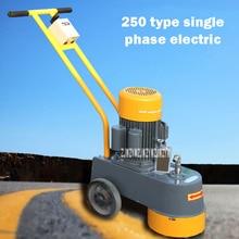250 Тип терраццо Бетонный цементный пол шлифовальный станок полировальный светильник коллекция машина для удаления накипи Алмазная водяная мельница