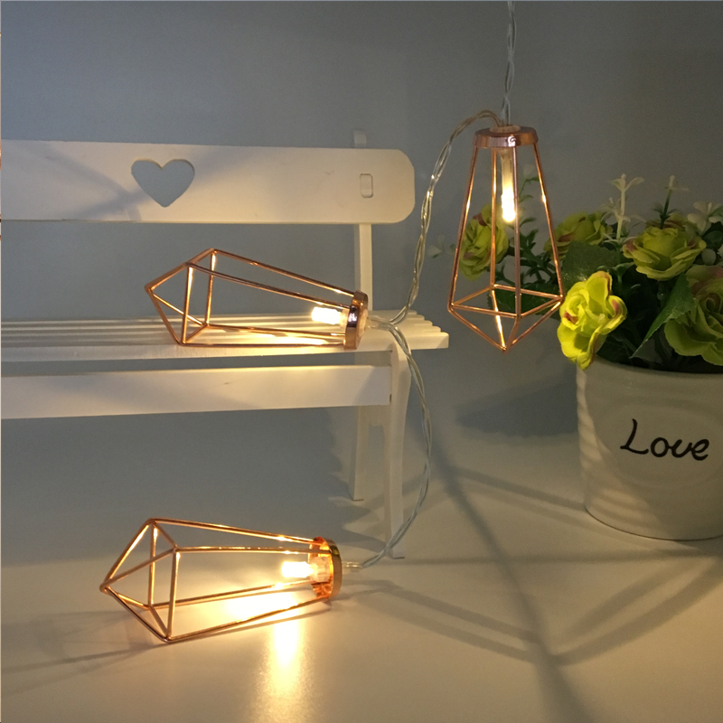 Battery powered indoor retro home decor geometric mini string light battery powered indoor retro home decor geometric mini string light led rope lamp starry party supplier patio decorative in led string from lights mozeypictures Gallery