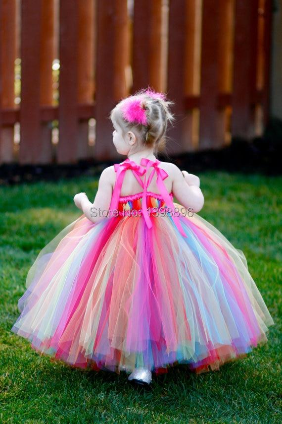 Único Arco Iris De Color Vestidos De Fiesta Embellecimiento - Ideas ...