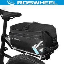 Roswheel Bicycle Bag Multifunction 6L Bike Tail Rear Bag Back Saddle Cycling Bicicleta Basket Rack Trunk Bag Shoulder Handbag