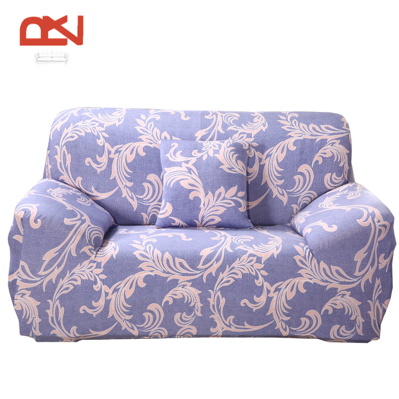 Sofa Cover Colorful European Stretch Cotton Fabric Protector Sofa Universal  Corner Couch Furniture Covers Home Decor