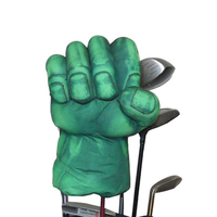 Golf The Green Hand Boxing Club Cover for Driver Wood 460cc Golf Club head, Animal Headcover