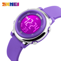 SKMEI Children Watch Fashion Casual Backlight 50M Depth Waterproof Digital Wristwatches Kids Cartoon Jelly Outdoor Brand