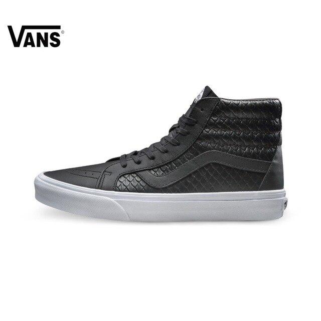 buty vans czarno białe