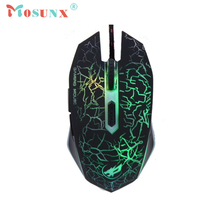 Wired USB Optical LED Gaming Mouse Top Quality New Fashion 2400DPI 6 Butttons Mice For Laptop PC Rato 17July20