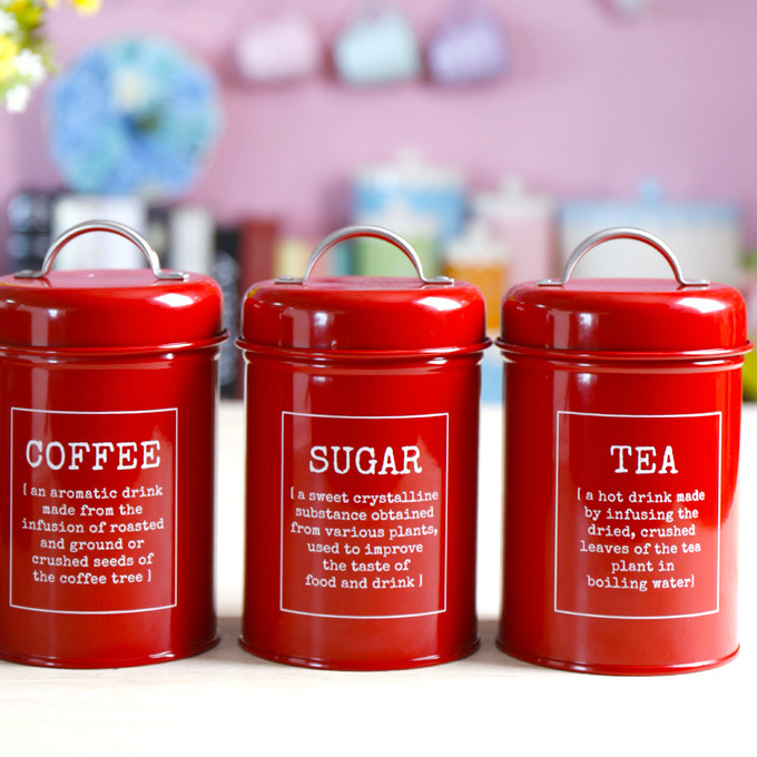 High Quality Stainless Steel Portable Sealed Storage Tank Shop Supplies Milk Coffee Suger Tea Coffee Bean Pot Food Free Shipping
