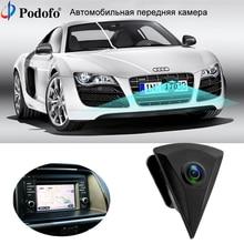 Podofo Автомобильная CCD фронтальная камера заднего вида система парковки для автомобиля монитор водостойкий 170 градусов для VW/Volkswagen/GOLF/Jetta