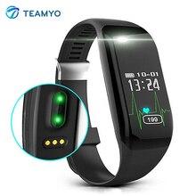 Teamyo H3 умный Браслет монитор сердечного ритма часы фитнес-трекер Smart Браслет Шагомер для IOS Android