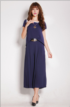 Europe and large size women's summer chiffon shirt wide leg culottes piece fitted S-6XL