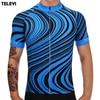 TELEYI Team Mens PRO Bike Clothing Ropa Ciclismo Bicycle Short Sleeve MTB Jacket Tops Biking Shirts