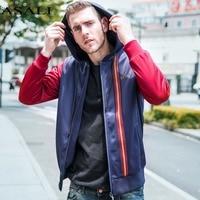 ASALI Zipper Hoodies Jacket 2017 New Brand Men S Baseball Bomber Jacket Men Fashion Hip Hop