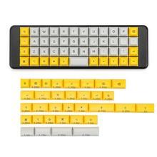 XDA 40 Keycaps nhuộm subbed Phím Cherry MX NGƯU 40 Bàn phím cơ