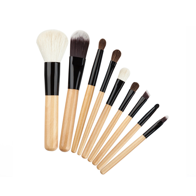 9pcs Professional Makeup Brushes Set Wool Cosmetics Tools Eyeshadow Lip Foundation Brush for Women