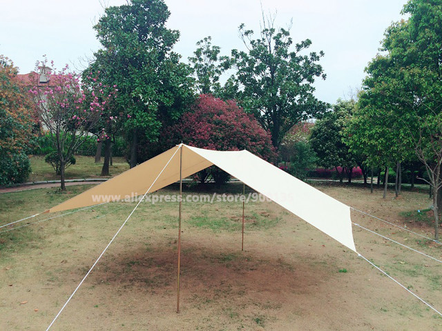 Waterproof Cotton Canvas Tent Awning The Vestibule For Camping Outdoor Shelter