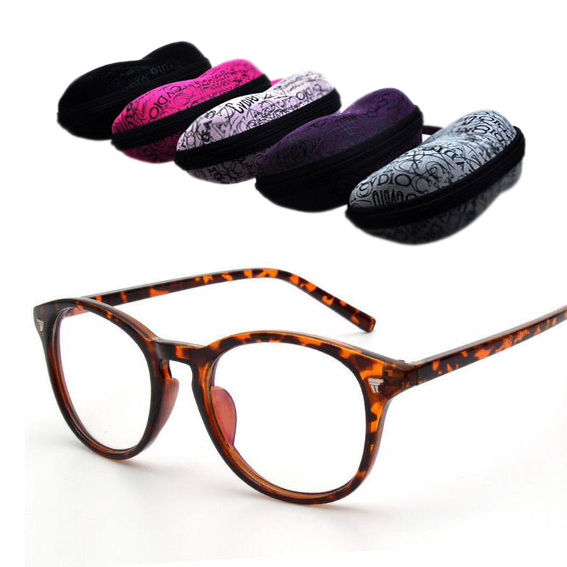 Brand New Designer Cat Eye Glasses 2020 Gafas Retro Fashion Black Women Glasses Frame Clear Lens Vintage Eyewear + Eyewear Cases