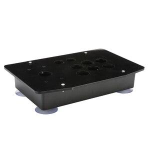Image 4 - Acryl Panel Fall Ersatz DIY Klar Schwarz Arcade Joystick Griff Arcade Spiel Kit Robust Bau Einfach zu Installieren