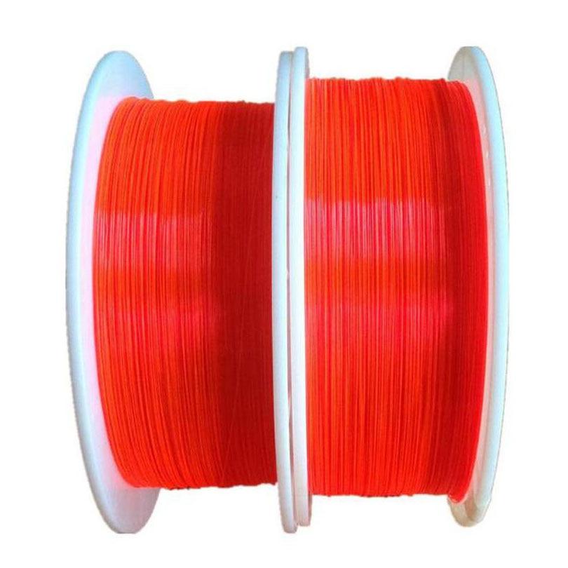 1M 1.5mm Fibre Optic Cable Red Orange Green Fluorescence Ultra Flex Optical Fibre for Gun Sight Lighting Bowsight