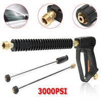 3000 PSI Car Water Power Washer High Pressure Spray Gun 2 Extension Wand