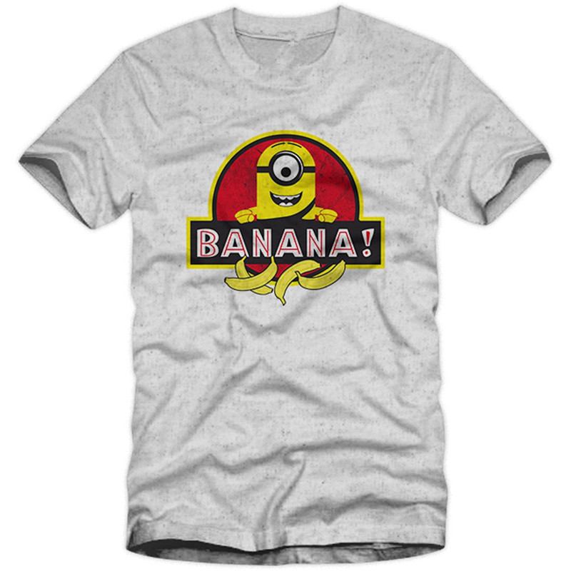Banana Park World Herren Menu0027s T Shirt Minion Jurassic Dinosaurier  Unverbesserlich Me Funny Graphic Printed Tops T Shirts S 3XL In T Shirts  From Menu0027s ...