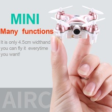 Cheerson CX-10W-TX Quadcopter Drone 0.3MP Camera 4CH 6-Axis Gyro Helicopter 3D Flips/Rolls LED Light Phone WIFI ControlAircraft
